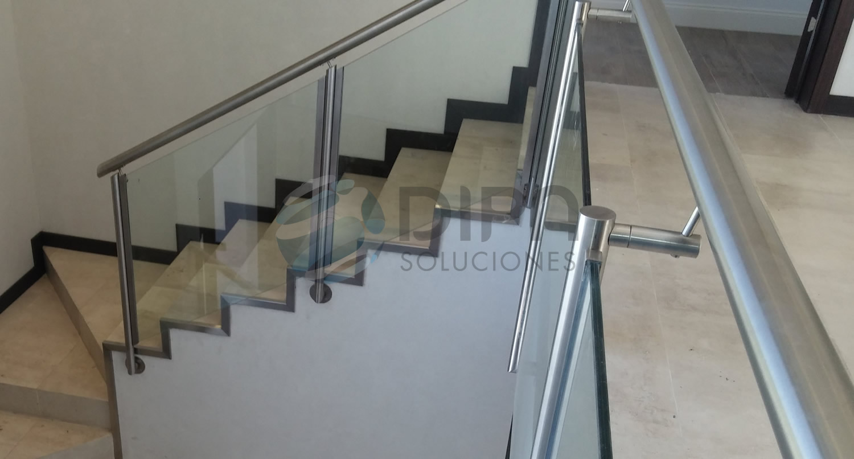 Pasamanos de hierro para escaleras baranda de acero - Barandas para escaleras de hierro ...