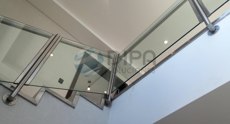 dipa soluciones escaleras barandas y pasamanos with barandas escaleras